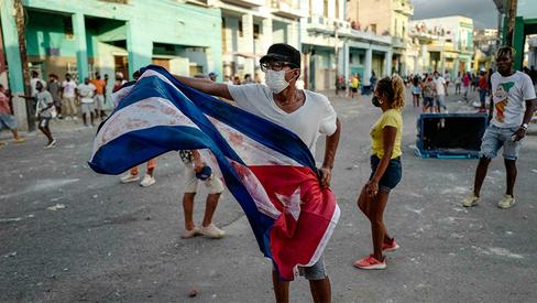 """""""Os protestos de 11 de julho em Cuba foram gestados, organizados e financiados pelos EUA"""""""