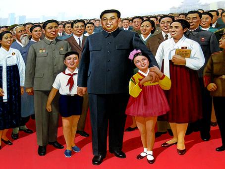 """""""O credo do presidente Kim Il Sung"""""""