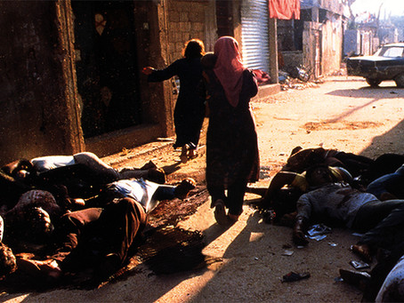 """Holocausto progressivo de Israel contra a Palestina"""