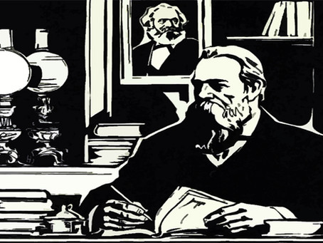 """""""Karl Marx por Friedrich Engels"""""""