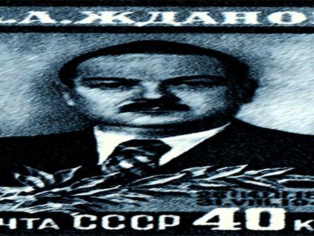 """Zhdanov: """"Literatura Soviética: a mais rica em ideias, a literatura mais avançada"""""""