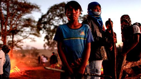 """""""Polícia despejará acampamentos Guarani e Kaiowá no MS nesta segunda"""""""