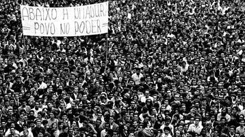 Abaixo a ditadura! Viva à luta do povo brasileiro pela genuína democracia!