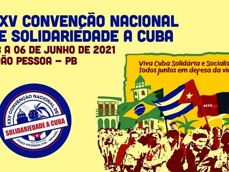 """""""Carta final da XXV Convenção Nacional de Solidariedade a Cuba"""""""