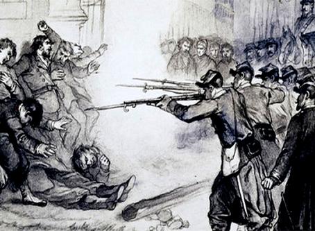 """As atrocidades da burguesia"""