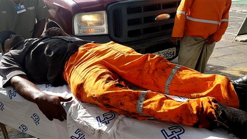 Trabalhadores morrem como moscas no país das leis anti-operárias