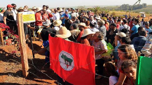 Luta camponesa avança com ocupação de latifúndios