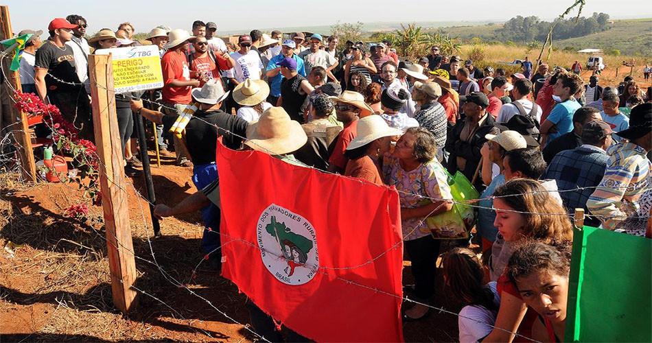 Foto de ocupação do MST em Americana (agosto/2011)