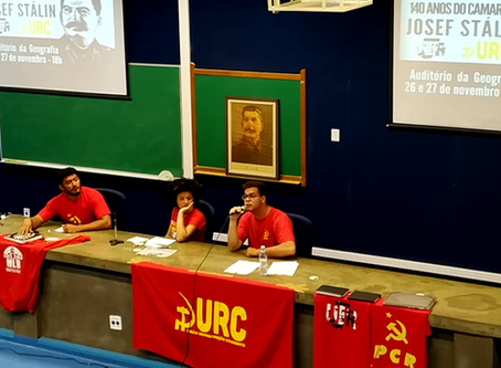 140 anos do camarada J.V. Stalin é celebrado na USP