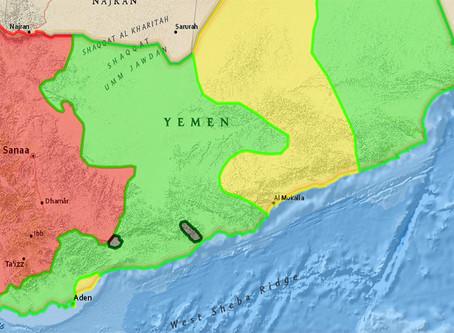 A batalha pelo Iêmen (mapa atualizado)