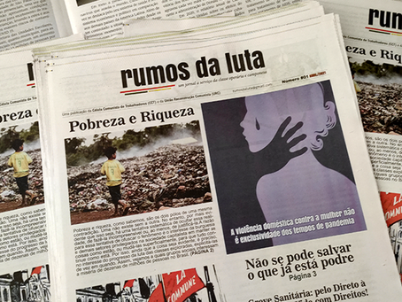 Publicada a primeira edição do jornal Rumos da Luta
