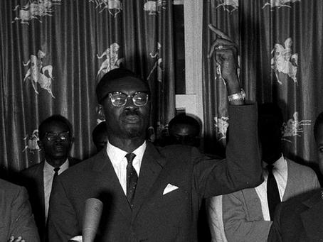 """""""Mensagem de Lumumba transmitida via rádio ao Congo"""""""