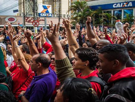 Ações dos trabalhadores no Dia Nacional de lutas