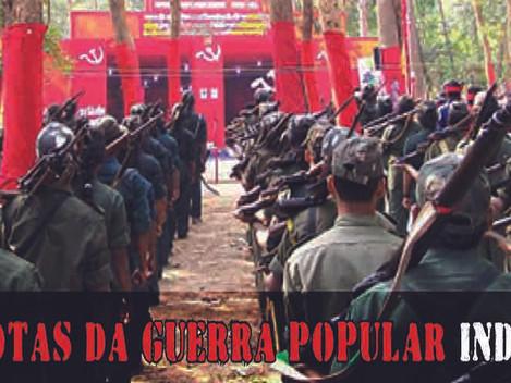 Camarada Raneeta, valente e heróica guerrilheira da Revolução Naxalita!