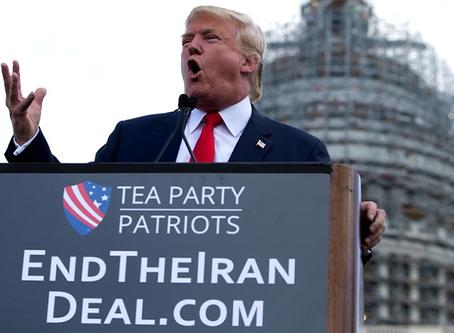 Trump rompe o acordo nuclear com o Irã