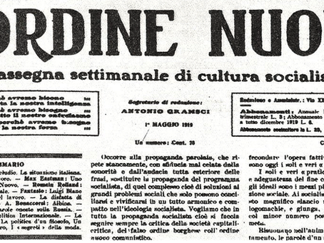"""Gramsci: """"Os jornais e os operários"""""""