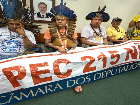"""""""A Luta contra a PEC 215"""""""