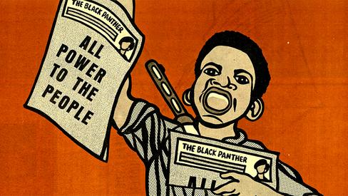 """""""The Black Panther: espelho do povo"""""""