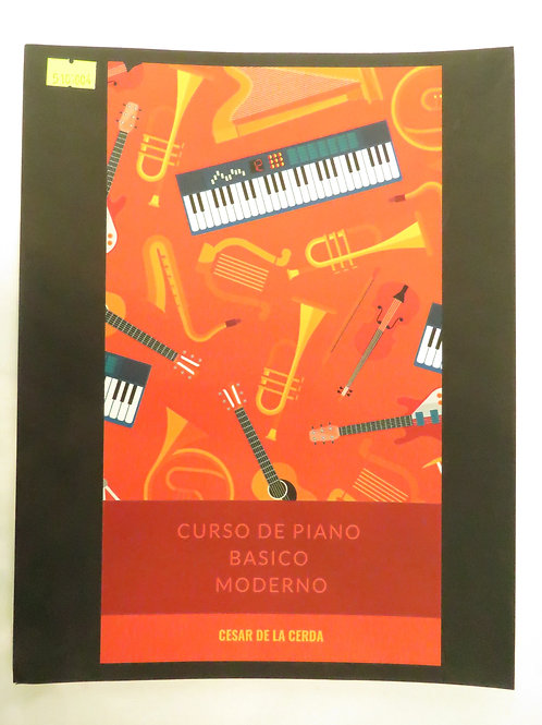 Curso de piano básico moderno
