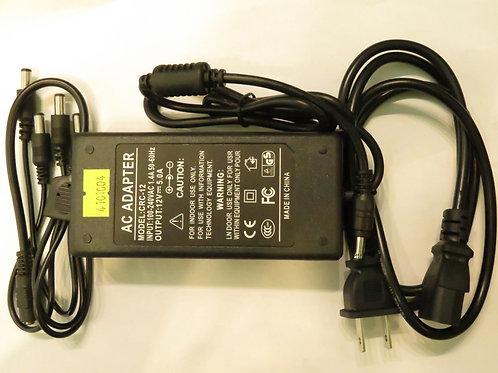 Adaptador P/Teclado 12VDC 5A 4 conectores CRC-12 <EAGLE>
