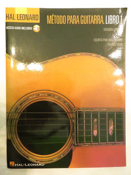Hal Leonard Metodo para guitarra Libro 1