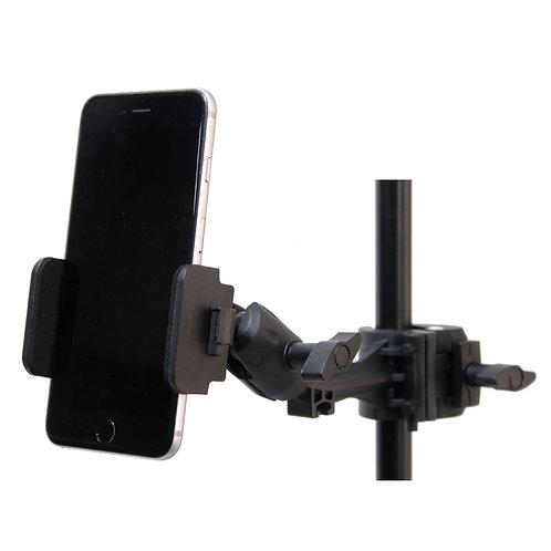 Porta celular para pedestal de micrófono 360 grados )LYCO GEAR)