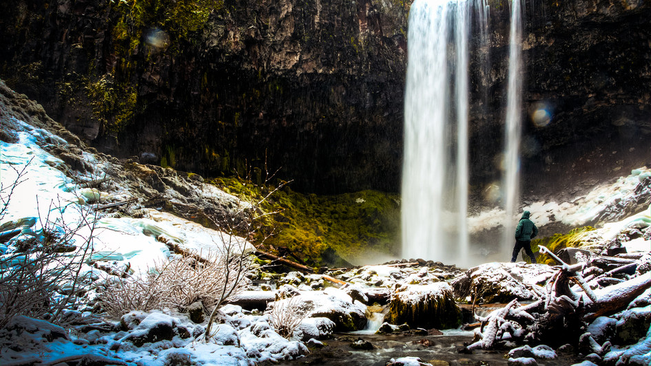 Tamawanas Falls Portrait