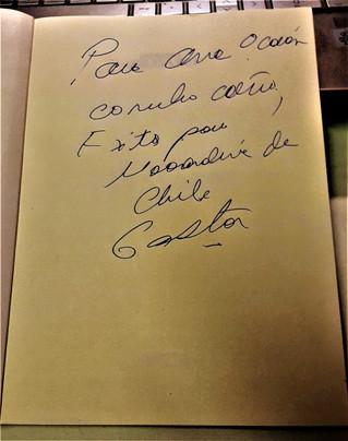 Del Maestro con cariño, Gastón Acurio nos dedica uno de sus últimos libros: Recontra Bravazo!