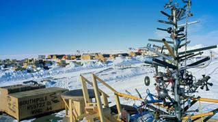 ¿Cómo se celebró la navidad en la Antártida?