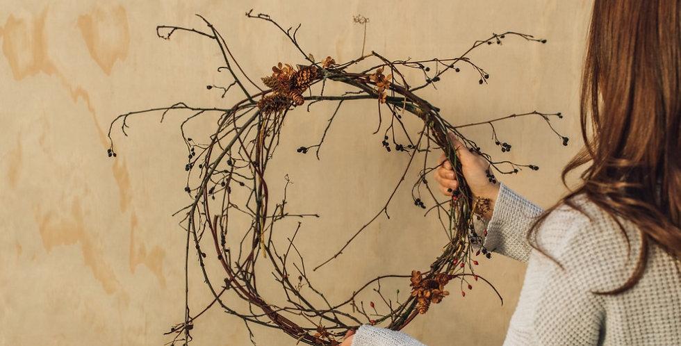 Twiggy Wreath - Small