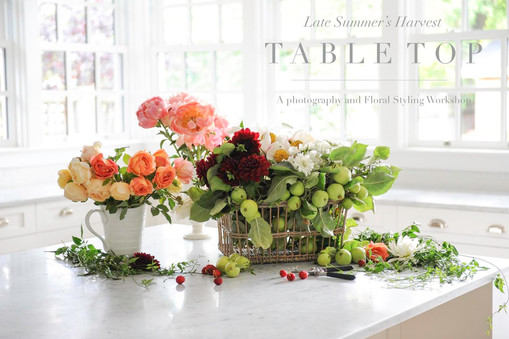 TABLETOP: A Photography and Floral Styling Workshop