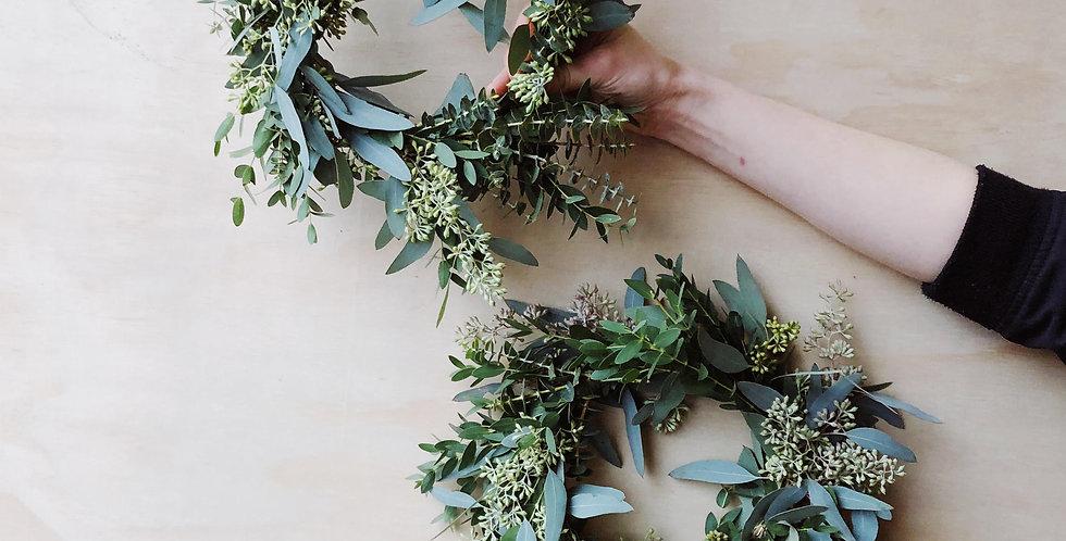 Eucalyptus Wreath - Small