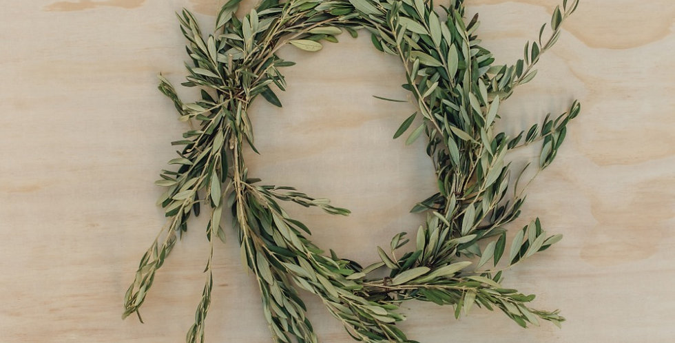 Olive Wreath - Medium