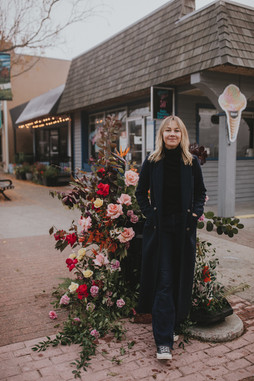 Fort Langley gets 'flower-bombed'
