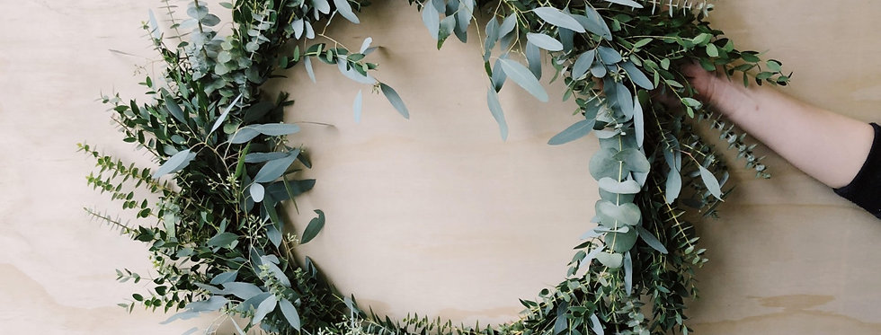 Eucalyptus Wreath - Large