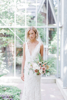 Tropical Greenhouse Bridal Editorial