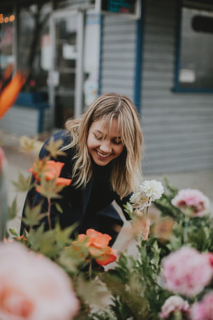 Fort Langley wakes up to a flower bombing
