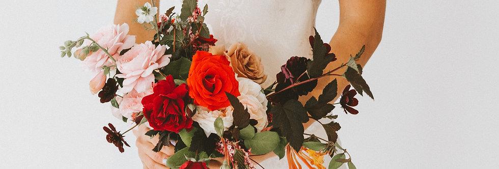 Petite Bridal Bouquet or Bridesmaid Bouquet