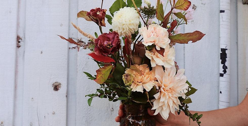 Fall Centrepiece - Medium (Soft Colours)
