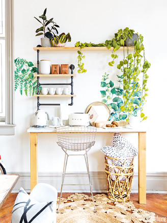Beautiful Botanicals Add a Touch of Whimsy to a Vancouver Studio