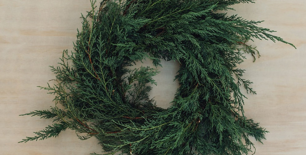 Carolina Sapphire Wreath - Small