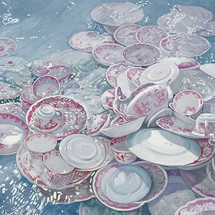 Plates in the Ocean