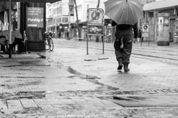 Дождливый день в Карлсруэ