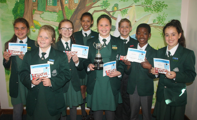 Grade 5 Reading Competition