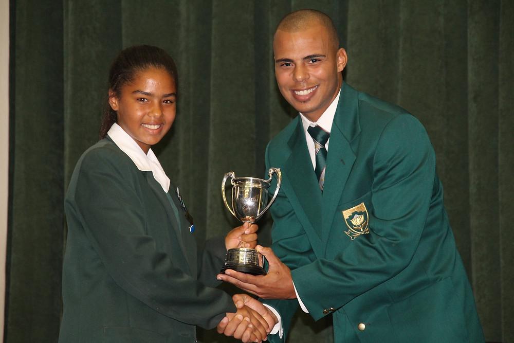 Sidne Adams - Sportswoman of the Year