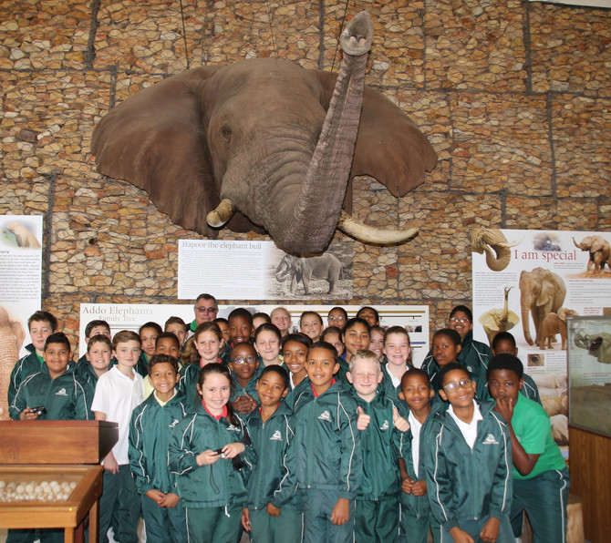 Gr 5 Outing to Addo