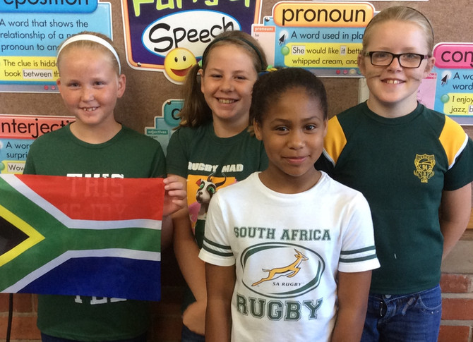 South Africa Civvies Day