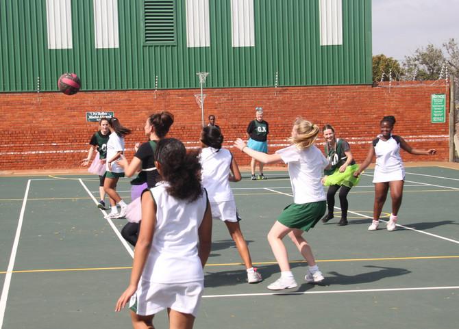 Staff vs Pupils Netball Match