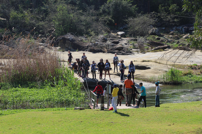 Gr 6 Adrenalin Addo Camp – Just Let Go