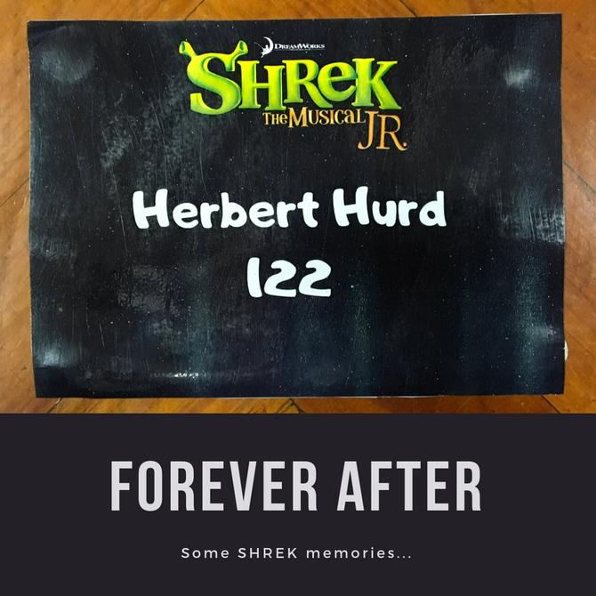 HERBERT HURD GRADE 2's HEAD TO SHREK
